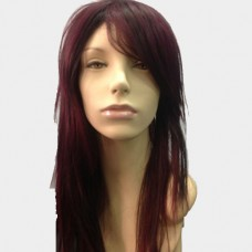 Synthetics Hair Wig - Long Wig With Fringe Color 99J